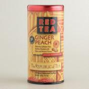 The Republic of Tea Ginger Peach Red Rooibos Tea