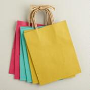 Medium Spring Kraft Gift Bags,6-Pack