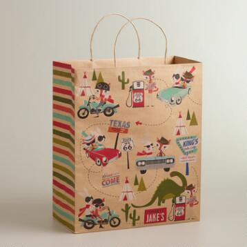Fox & Hare Jumbo Kraft Gift Bag