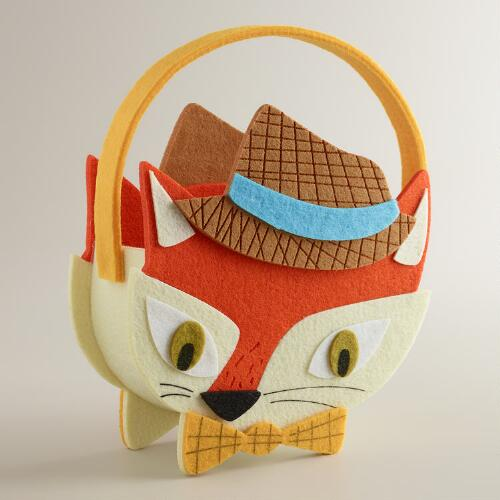 Fox & Hare Felt Basket