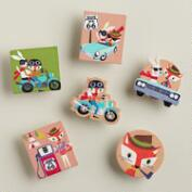 Fox & Hare Wood Clips
