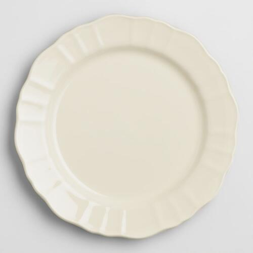 Ivory Provence Salad Plates, Set of 4