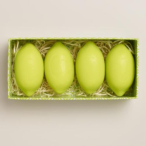 Lime Bergamot Box of Soaps, 4-Piece