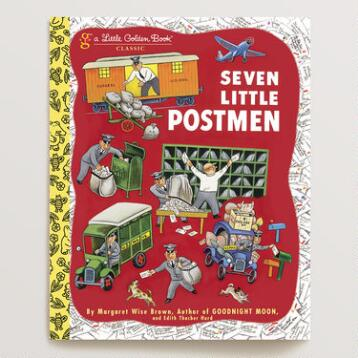 Seven Little Postmen, a Little Golden Book