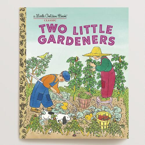 Two Little Gardeners, a Little Golden Book