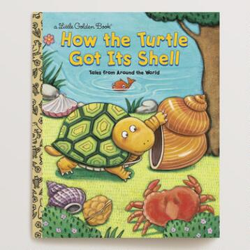 How the Turtle Got Its Shell, a Little Golden Book