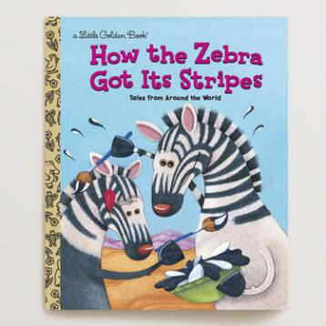How the Zebra Got Its Stripes, a Little Golden Book
