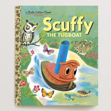 Scuffy the Tugboat, a Little Golden Book
