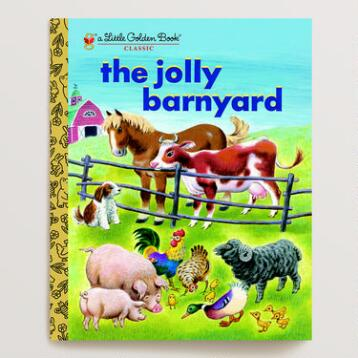 The Jolly Barnyard, a Little Golden Book