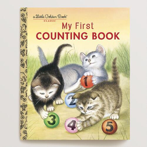 My First Counting Book, a Little Golden Book