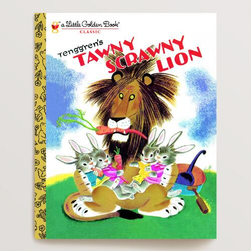 Tawny Scrawny Lion, a Little Golden Book