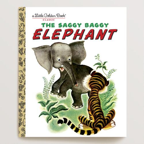 The Saggy Baggy Elephant, a Little Golden Book