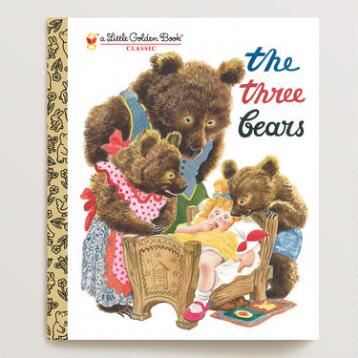 The Three Bears, a Little Golden Book