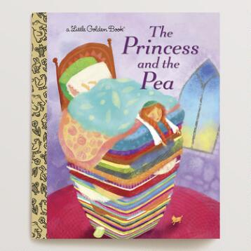 The Princess and the Pea, a Little Golden Book