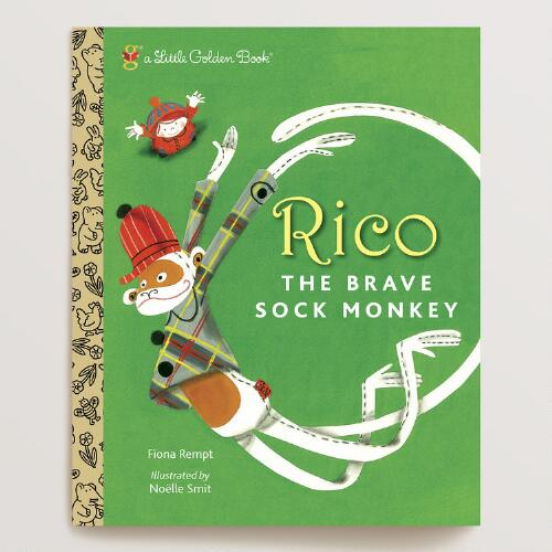 Rico the Brave Sock Monkey, a Little Golden Book