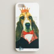 Dog Bonjour Paris iPhone Case