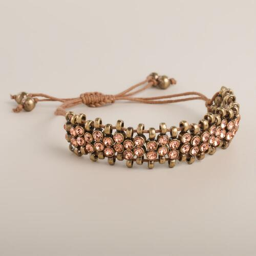 Blush Stone Friendship Bracelet