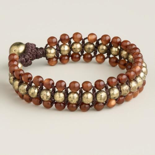 Tiger Eye Friendship Bracelet