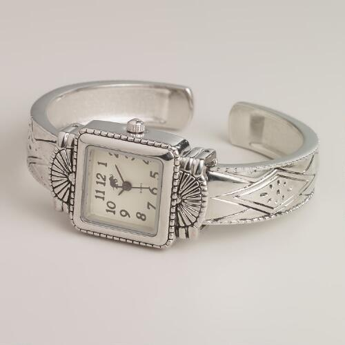 Southwestern Cuff Watch