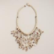 Ivory Shell Dangle Necklace