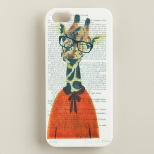 Giraffe Bonjour Paris iPhone 5 Case