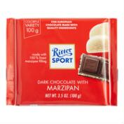 Ritter Sport Dark Chocolate with Marzipan, Set of 12