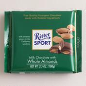 Ritter Sport Milk Chocolate with Almonds, Set of 11