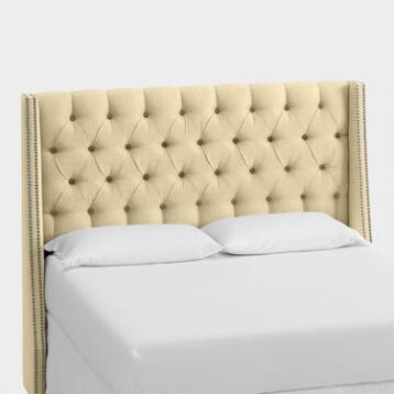 Linen Kellerman Upholstered Headboard