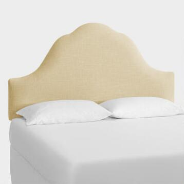 Linen Elsie Upholstered Bed
