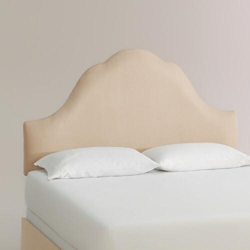 Micro Suede Elsie Upholstered Bed