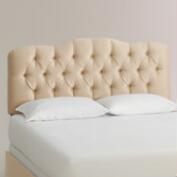 Micro Suede Rae Upholstered Bed