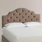 Velvet Sabine Upholstered Bed