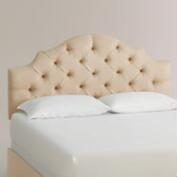 Micro Suede Sabine Upholstered Bed