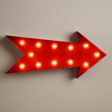 Arrow Marquee Light