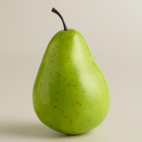 Decorative Pears, 6-Piece