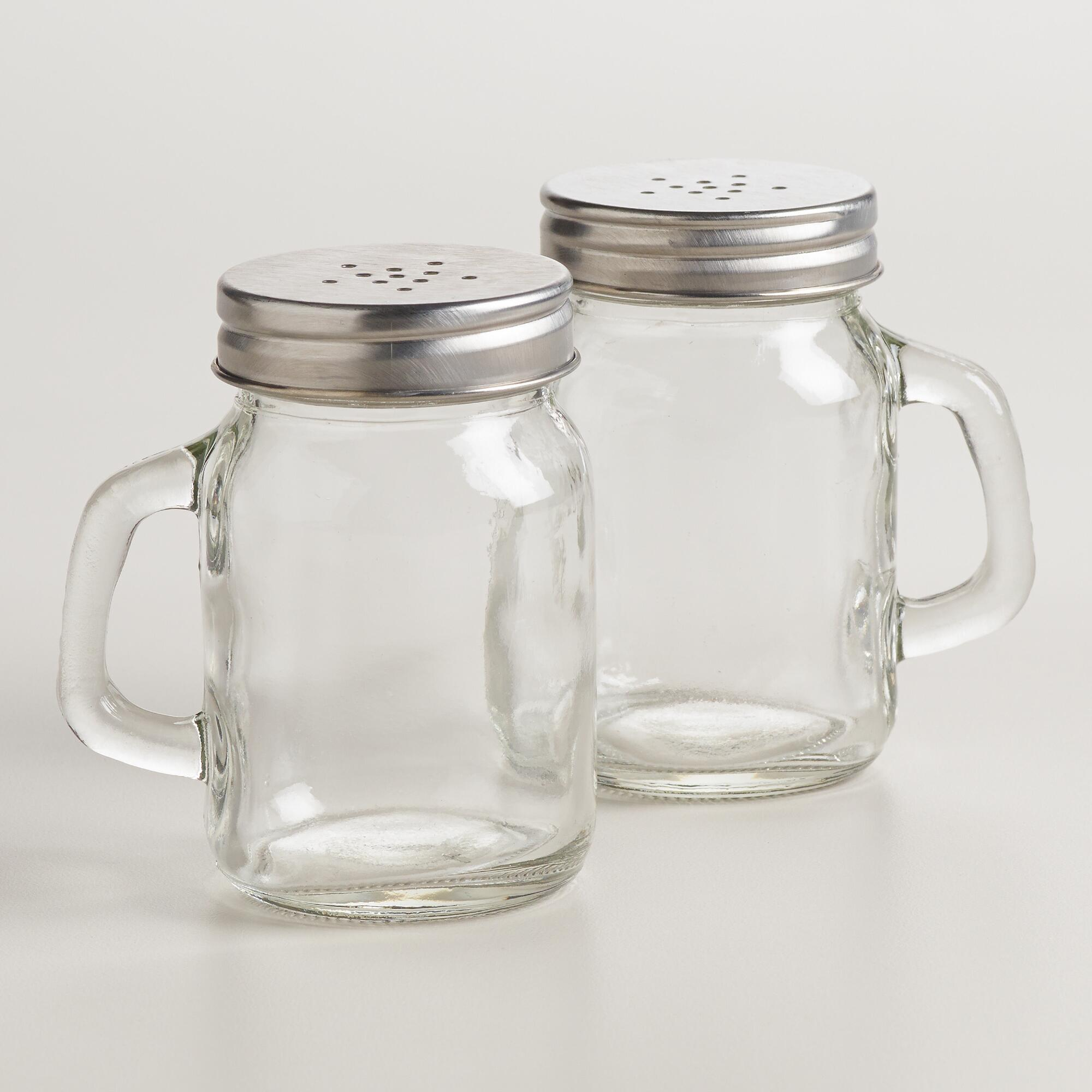 mason jar salt and pepper shaker world market