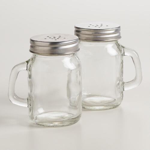 Mason Jar Salt and Pepper Shaker | World Market