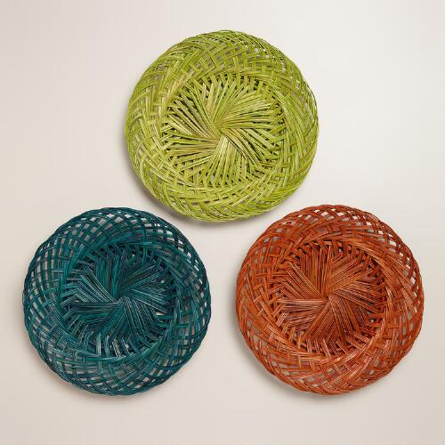 Cocotwig Chargers, Set of 3