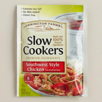 Orrington Farms Southwest Style Chicken Seasoning Set of 12