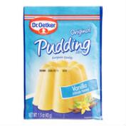 Oetker Instant Vanilla Pudding Mix, Set of 10