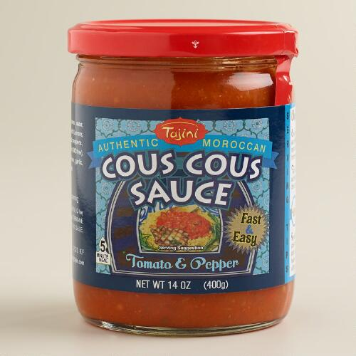 Tajini Red Pepper and Olive Couscous Sauce