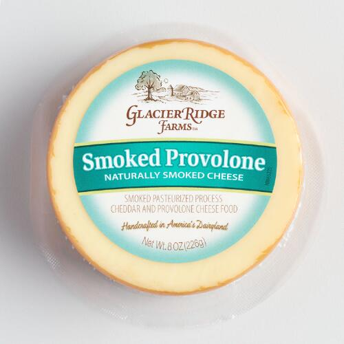 Glacier Ridge Smoked Provolone Cheese