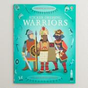 Sticker Dressing Warriors Book