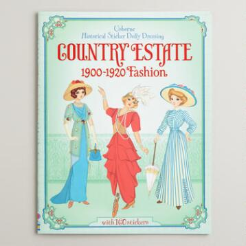 Country Estate Historical Sticker Book