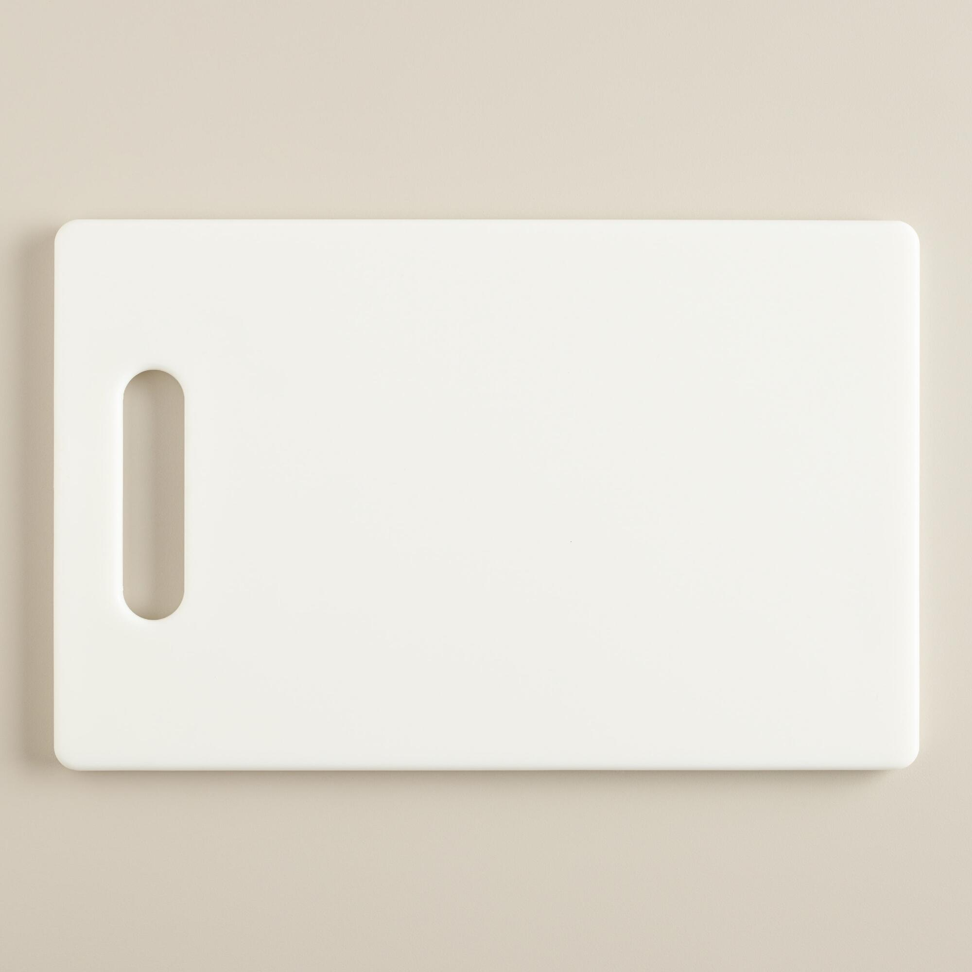 small white cutting board world market