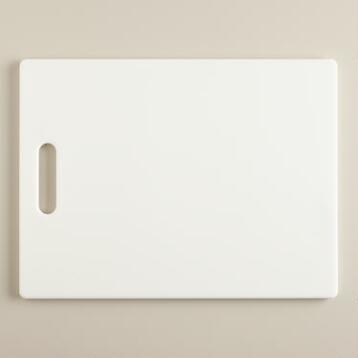 White Bar Cutting Board