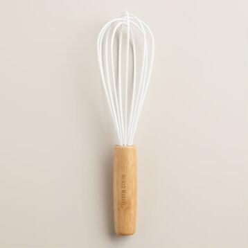 White Silicone Whisk