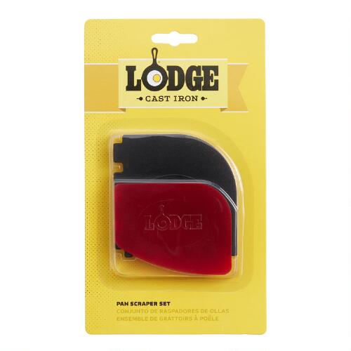 Lodge Grill Pan Scrapers, Set of 2