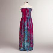 Fuchsia Elyse Maxi Dress
