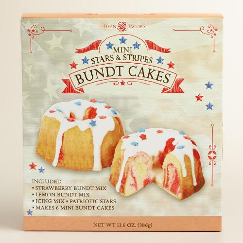 Stars and Stripes Mini Bundt Cake Mix